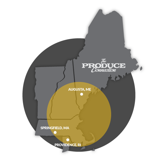 Produce Connection Delivery Area